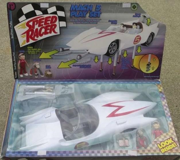ReSaurus Speed Racer playset