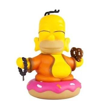 kidrobot homer simpson buddha
