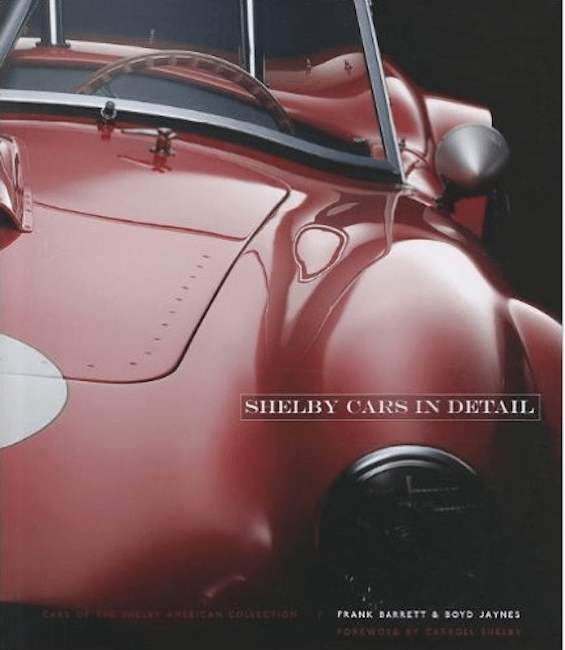 Shelby Cars in Detail museum book