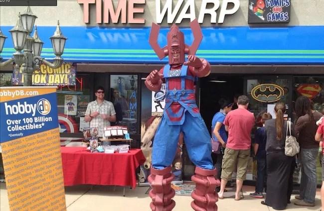 Time Warp Free Comic Book Day Galactus