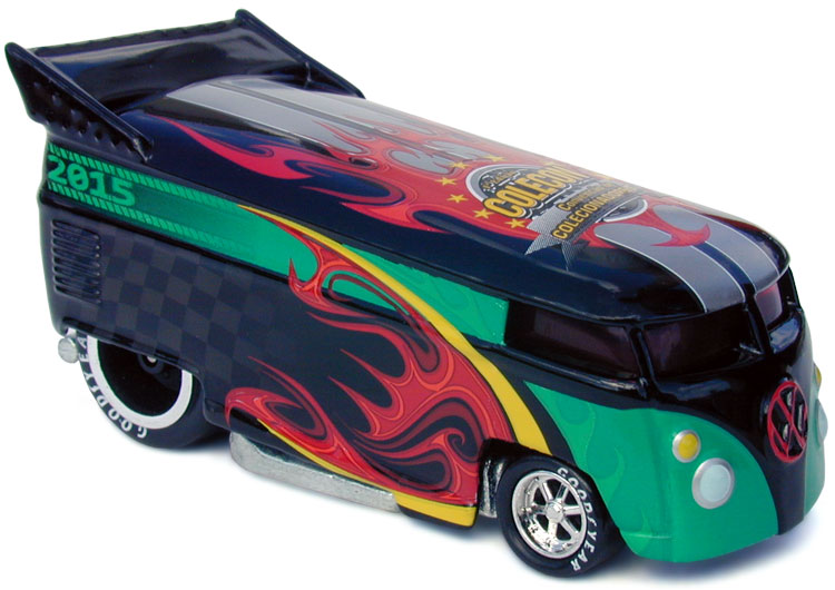 Libery Promotions' Flamethrower VW Drag Bus for the last Brazil Convention