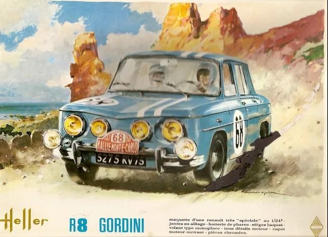 Heller AMT Renault R8 Gardini