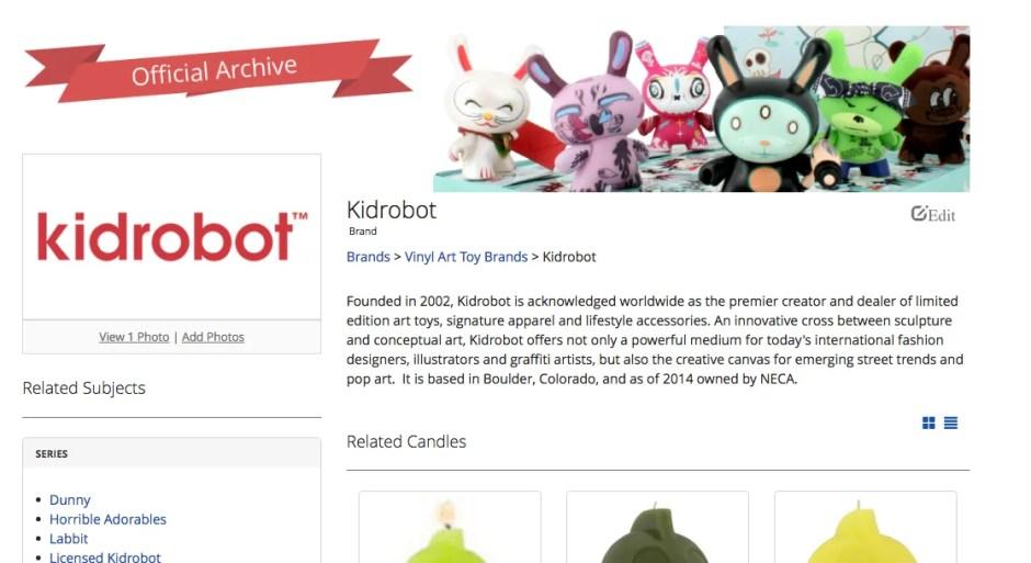 Kidrobot Archive