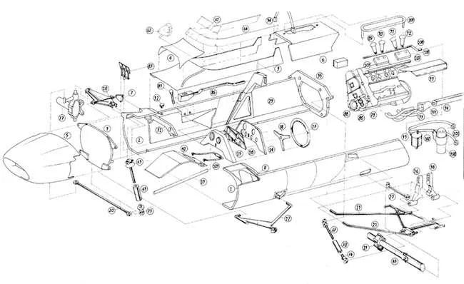 Heller Matra MS5 Formula 2