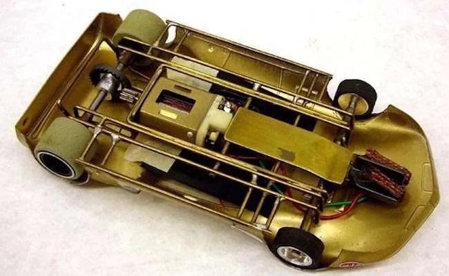 vintage hand made lancer slot car motors