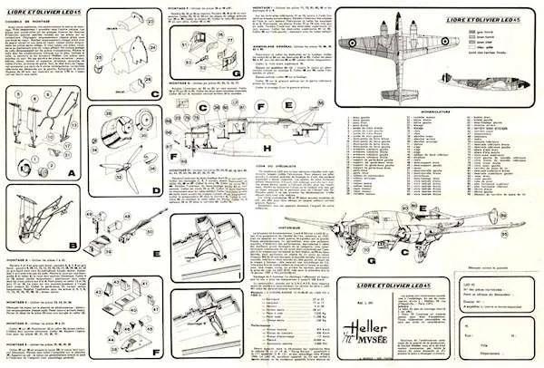 Designer Notes: Heller Liore et Olivier 45 Bomber Kit