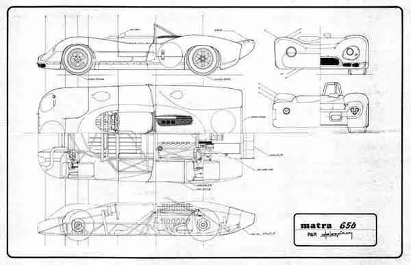 Heller Matra 650