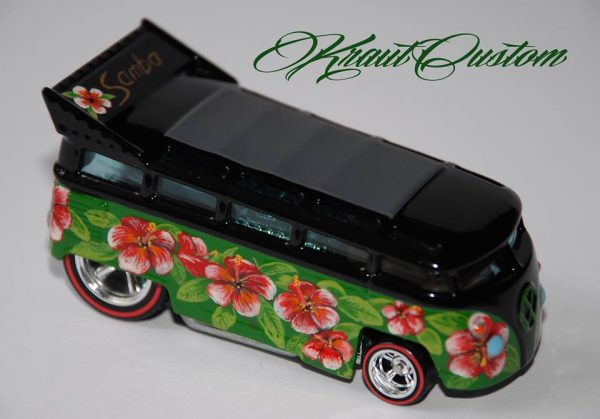 KrautCustom Hot Wheels Drag Bus