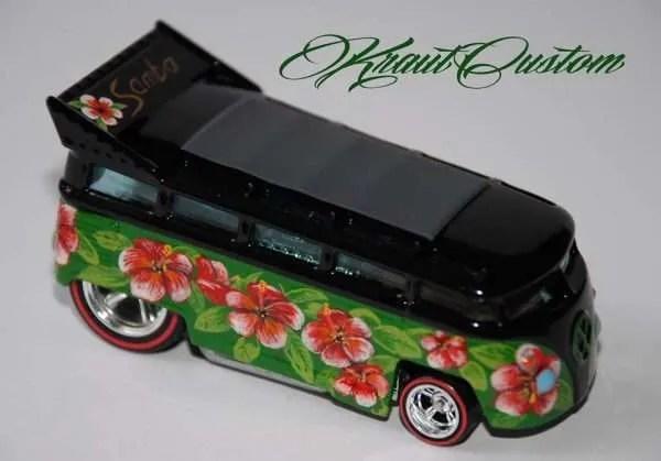 KrautCustom Hot Wheels Drag Bus