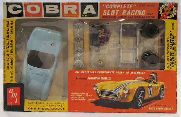 Shelby America Collection AMT slot car Cobra