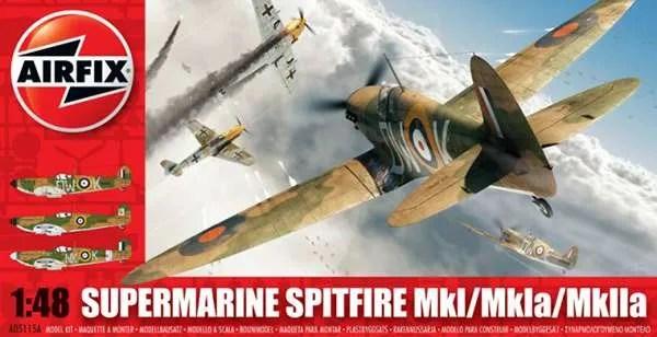Airfix Spitfire Supermarine kit