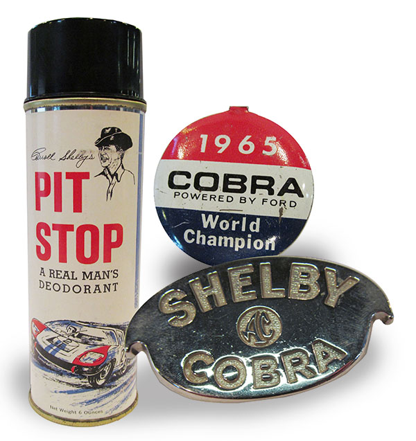Shelby American Collection pin hood badge doedorant