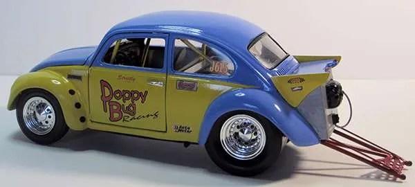 Custom Diecast Replicas volkswagen beetle dragster