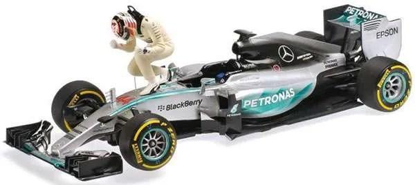 Mercedes-Benz MGP W06 Hybrid - Lewis Hamilton - Mercedes AMG Petronas - Winner USA Grand Prix 2015