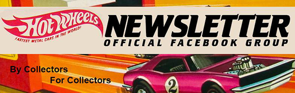hot wheels newsletter