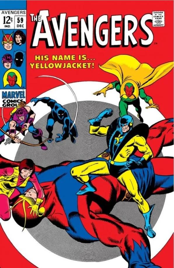 Avengers #59
