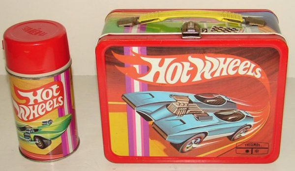 Hot Wheels Otto Kuhni lunchbox