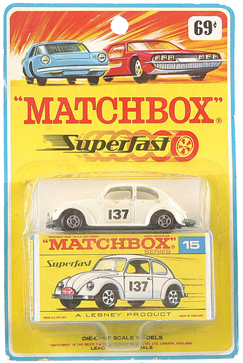 matchbox superfast blister card
