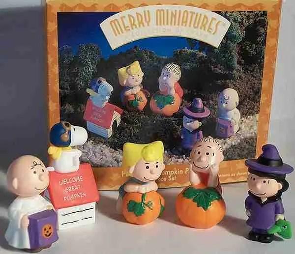hallmark great pumpkin peanuts