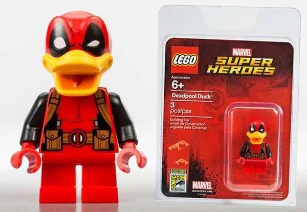 Deadpool Duck Lego