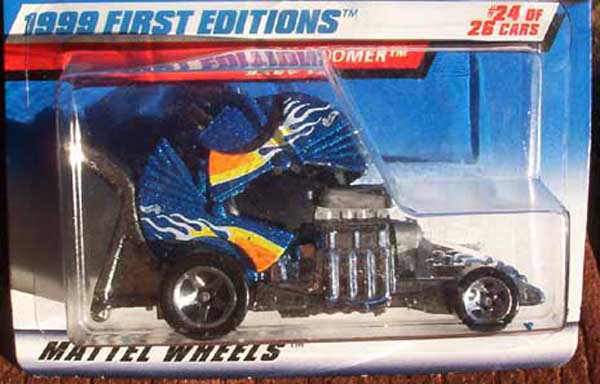hot wheels error baby boomer