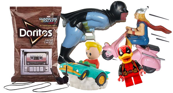 weird superhero toys