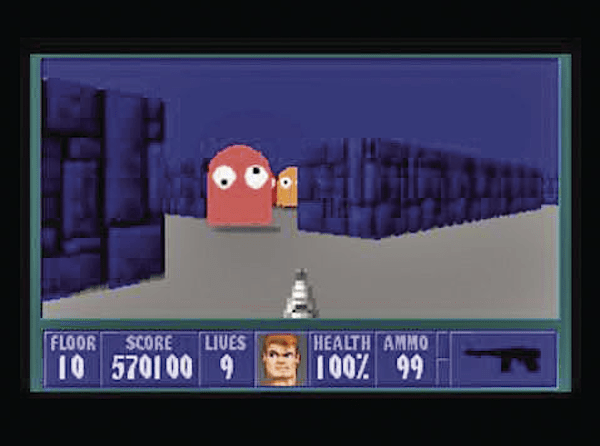 wolfenstein pac man