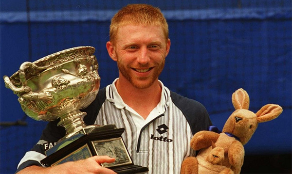 Boris Becker Australian Open