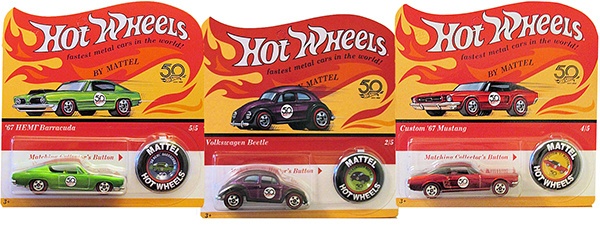 hot wheels 50th originals