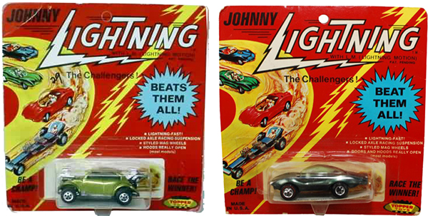 toy packaging johnny lightning