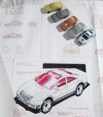 matchbox prototype police car