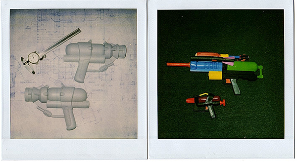 super soaker prototypes