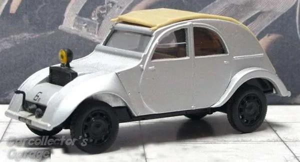 norev citroen 2cv prototype