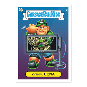 WWE Garbage Pail Kids