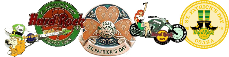 st patrick's day pins