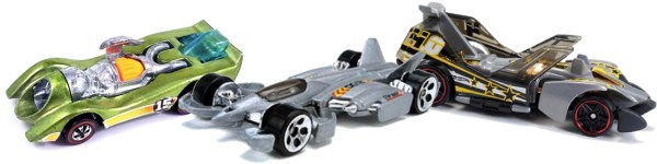 Hot Wheels Jet Threat Original/II, 3.0, 4.0
