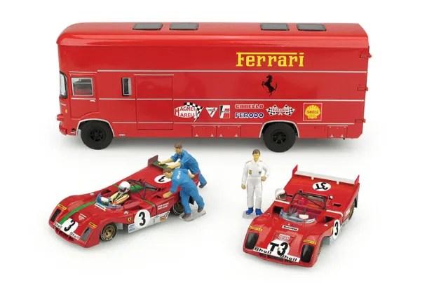Brumm 1972 Race Transporter Set