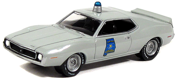 GreenLight 1971 AMC Javelin Police Cruiser