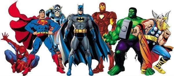 more superheroes