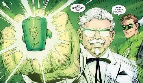 colonel sanders green lantern