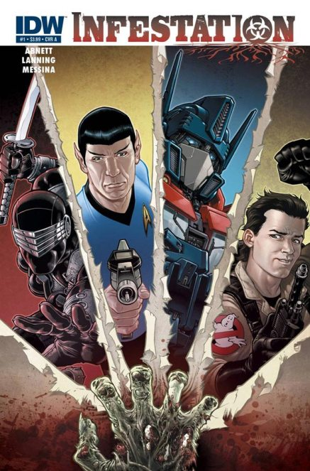 G.I.Joe Star Trek Transformers Ghostbusters