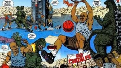 Godzilla vs Charles Barkley