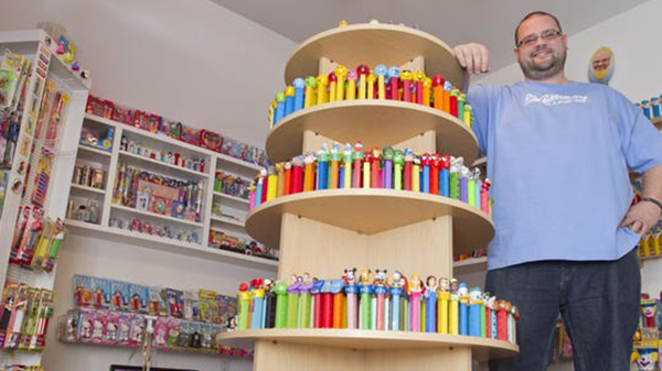world's largest pez collection