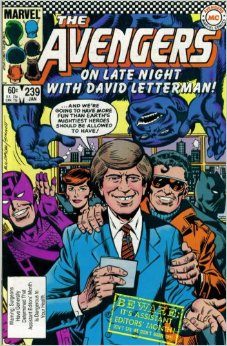 The Avengers On Late Night With David Letterman