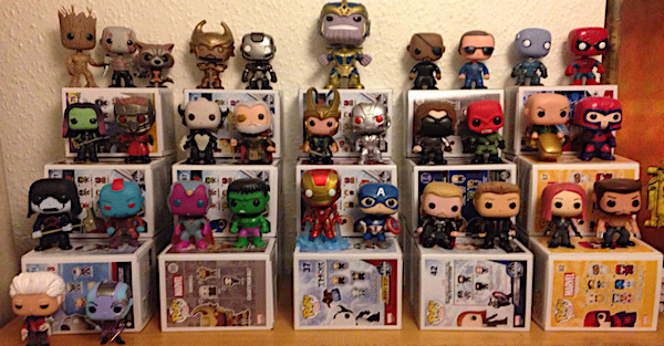 funko pop marvel collection