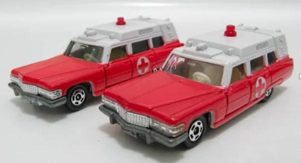 tomica cadillac ambulance