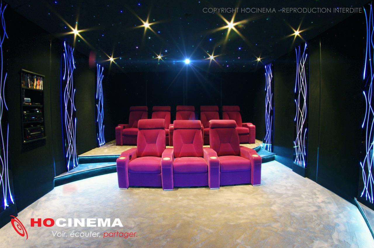Super Salle de cinéma chez soi Thébé, signée HOCINEMA XZ54