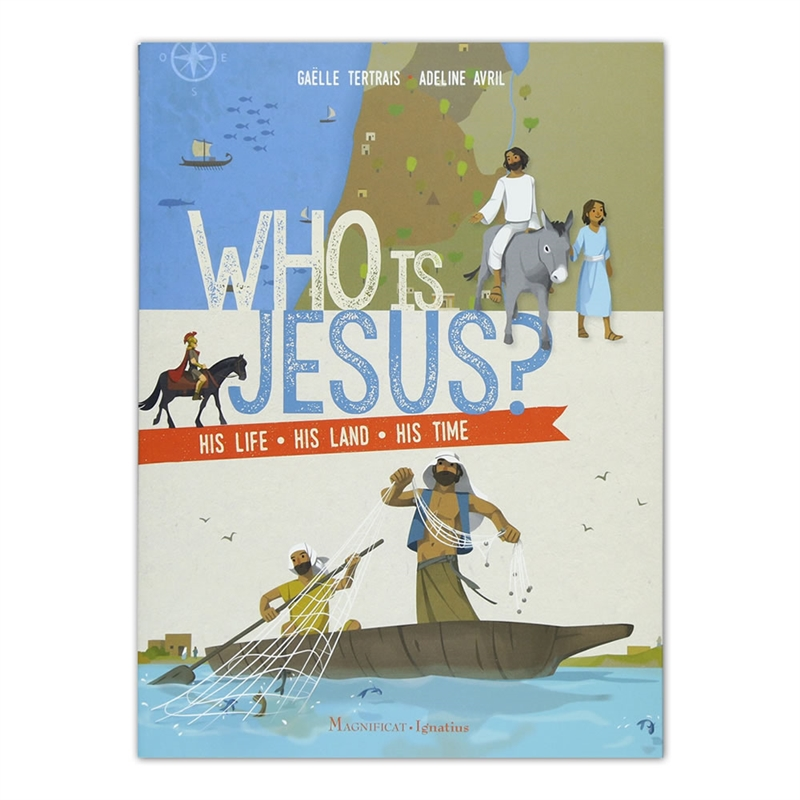Therese wrote a blog post about this book HERE. This helps children learn about Jesus beyond the pages of the Bible. What did Jesus eat and wear?