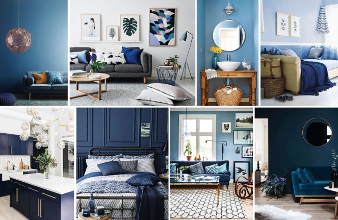 Blues Interiors Inspiration