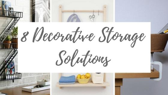 Decorative Storage Solutions